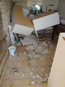Elements De Cuisine Ikea : comment fixer des meubles haut de cuisine sur du placo placo ~ Melissatoandfro.com Idées de Décoration