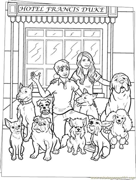 dogs coloring page source eb coloring page  dog