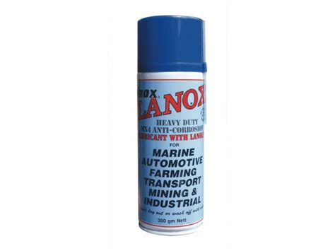 inox lanox mx aerosol extreme climatehumid heavy duty lanolin lubricant