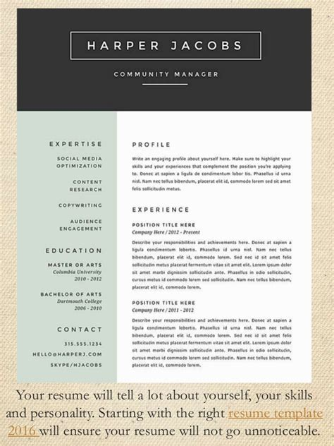 tips on your resume stand out best resume format