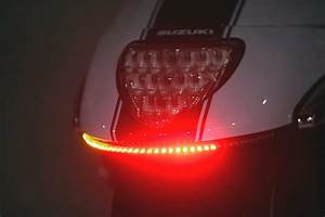 Suzuki M109   C90 Rear Led Array Turn Signals - Amber  U0026 Red