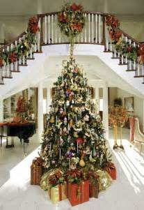 i want a foyer with space for a huge christmas tree love the split staircase too future