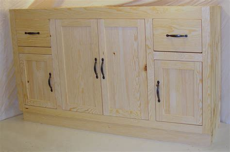 unfinished pine bathroom wall cabinet unfinished bathroom vanities an excellent option for