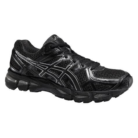 Asics Mens GEL-Kayano 21 Running Shoes - Black/Silver ...
