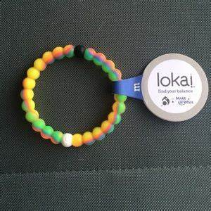 off Lokai Jewelry Small Neon Make A Wish Lokai from