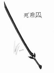 Fantasy Weapon Drawings