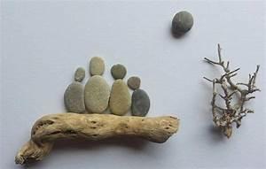 Bilder Mit Steinen : bild aus kieselsteinen familie von tamikra auf dawanda ~ Michelbontemps.com Haus und Dekorationen