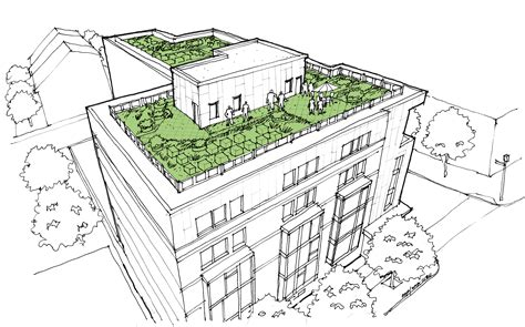 green roof planned   avenue park view dc