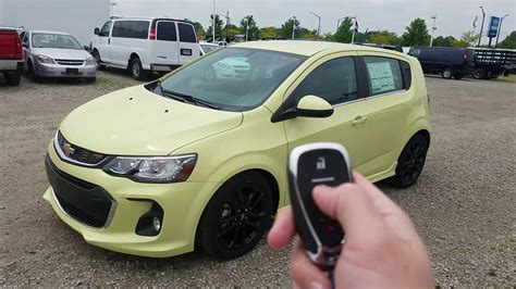 Chevy Sonic Hatchback Review by 2017 Chevy Sonic Hatchback Premier Review Brimstone