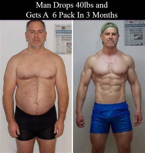 loses 40 lbs in 3 months get s a six pack and wins 50 000