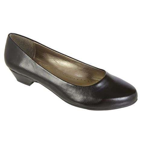 basic editions womens renee wide width pump black