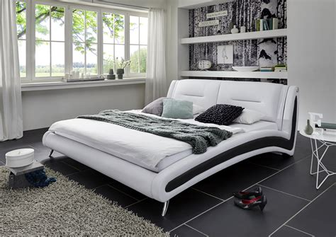 sam 174 design bett 120 x 200 cm wei 223 inside schwarz swing