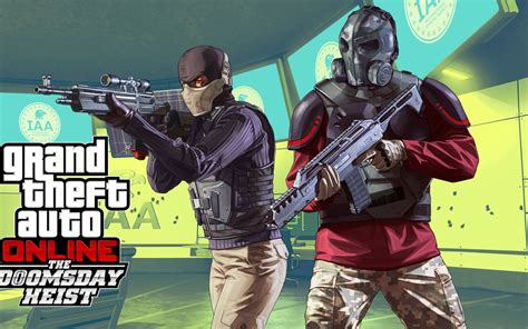wallpaper grand theft auto   doomsday heist dlc ps xbox  pc  games