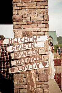 390 best wedding signs images on pinterest With redneck wedding decoration ideas