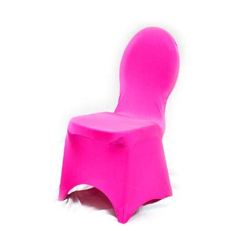 spandex banquet chair cover fuchsia prestige linens