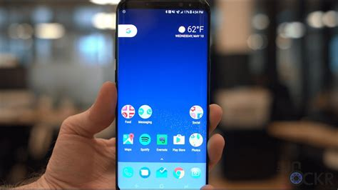 how to make your samsung galaxy s8 look like stock android