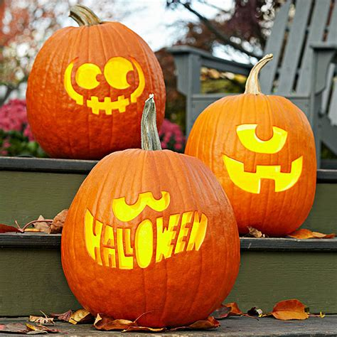 easy pumpkin designs easy pumpkin carving ideas