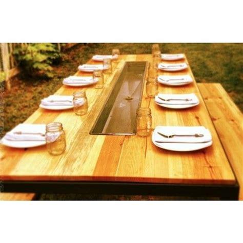 necr parsons trough table necr custom event rentals