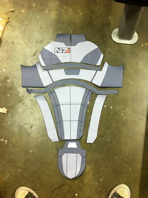 Mass Effect 3 N7 Armor Template by Mass Effect 3 N7 Armor Template Choice Image Template