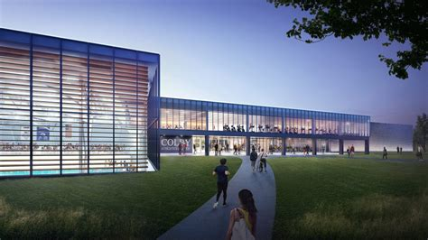 colby  break ground    athletic complex news