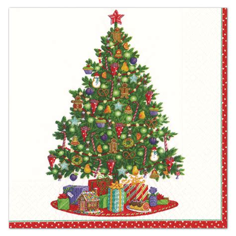 trim a tree christmas square dinner plates paperstyle