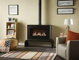 Poele A Gaz Avec Thermostat : po le gaz studio 1 freestanding stovax gazco ~ Premium-room.com Idées de Décoration