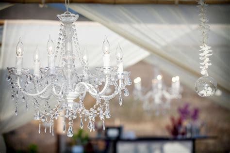 chandelier wedding decor hawaiian style event rentals