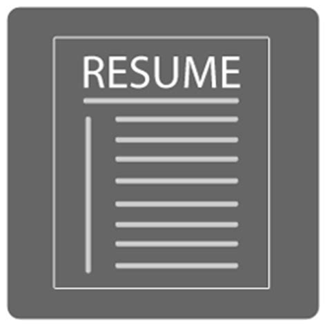 14191 resume icon transparent resume png transparent resume png images pluspng