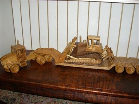 tractor trailer whigh track dozer  ron messersmith