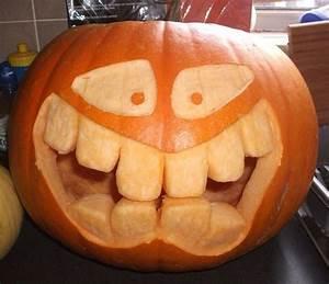 Pumpkin, Face, Big, Teeth