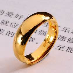 24k gold wedding band plain gold rings 24k yellow gold wedding bands for rings