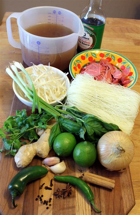 soup ingredients cheater pho bo vietnamese beef noodle soup anotherfoodieblogger