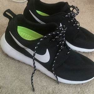 19% off Nike Shoes - black and white nike roshes women ON ...
