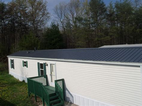 metal roof overs  mobile homes ikes mobile home roofover service  maryland