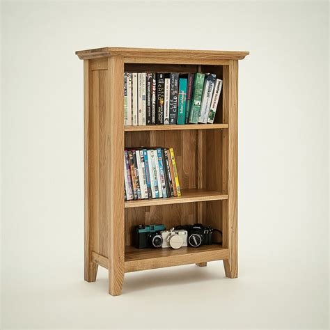 Small Rustic Bookcase by Oak Rustic Furniture Small Bookcase Living Room New