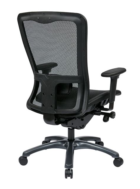 pro line ii progrid 174 mesh high back office chair with