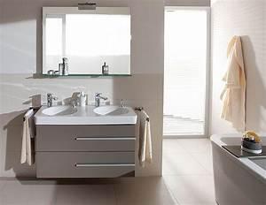 salle de bains modulable villeroy boch joyce deco With meuble salle de bain villeroy boch