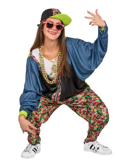 verkleidung 80er 80er jahre hip hop kost 252 m bunt g 252 nstige faschings kost 252 me bei karneval megastore
