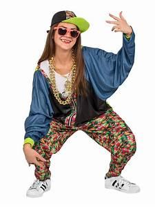 Kostüm Für 80er Jahre Mottoparty : 80er jahre hip hop kost m bunt oldschool kost m hip hop kost m ~ Frokenaadalensverden.com Haus und Dekorationen
