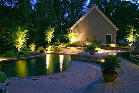 outdoor solar lights path landscape security flood
