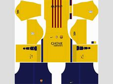 Barcelona 2018 Kit for DLS17 Dream League Soccer creat