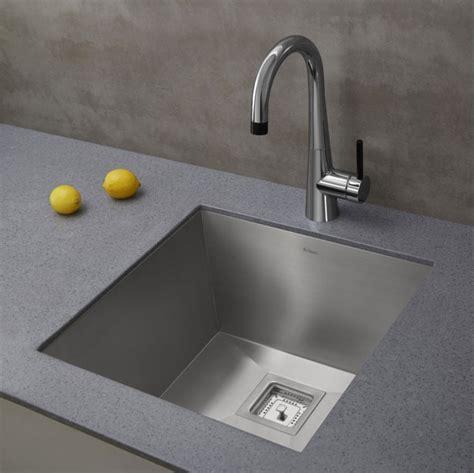 no water in kitchen sink kraus khu19 18 1 2 inch zero radius single bowl stainless 8962