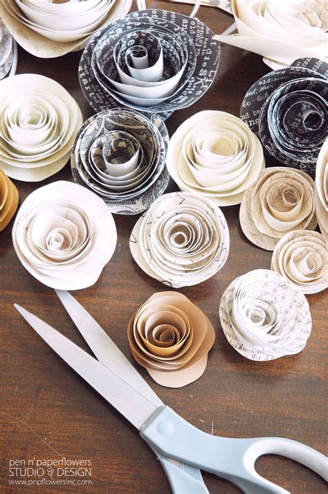 Easy Diy Paper Flowers  Tauni + Co
