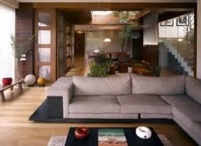 appealing living room design with grey sofa wooden floor