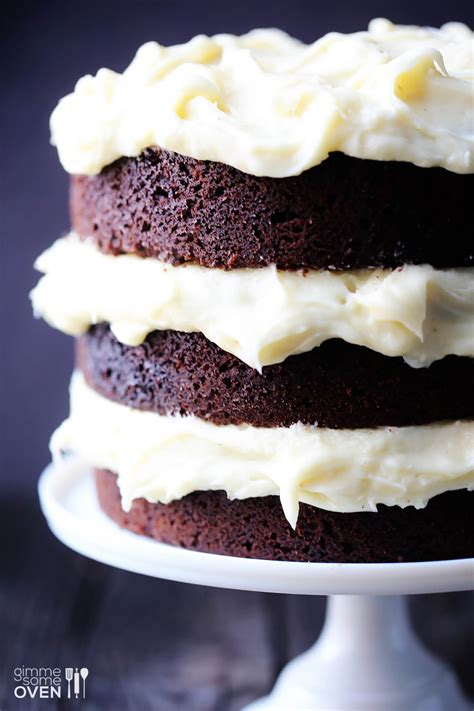 guinness chocolate cake  cream cheese frosting gimme