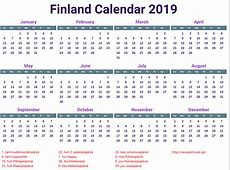Kalenteri 2019 tulostettava 3 2019 2018 Calendar
