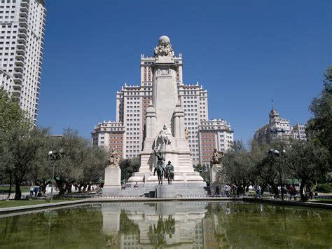 madrid plaza espana fotografias de ciudad