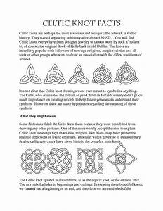 Irish Celtic Symbols And Meanings Chart A View Of Celtic Knots Incomplete Celtic Symbols And