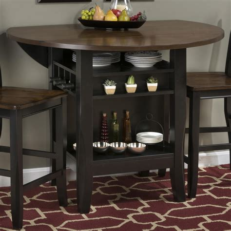 48 kitchen table with leaf jofran braden birch 48 counter height table with