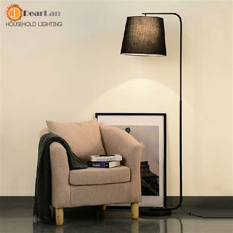 living room lighting floor ls modern brief fork fabric floor l modern brief bedroom